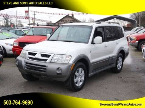 2006 Mitsubishi Montero for sale at Steve & Sons Auto Sales in Happy Valley OR