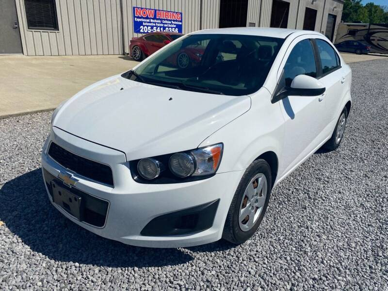 2014 Chevrolet Sonic for sale at Alpha Automotive in Odenville AL