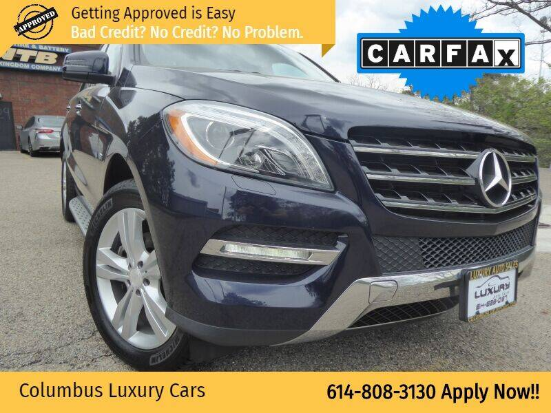 2012 Mercedes-Benz M-Class for sale at Columbus Luxury Cars in Columbus OH