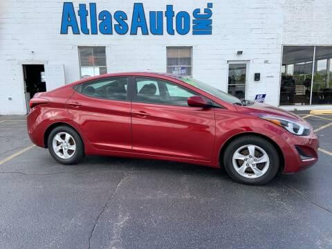 2014 Hyundai Elantra for sale at Atlas Auto in Rochelle IL
