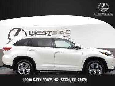 2017 Toyota Highlander for sale at LEXUS in Houston TX