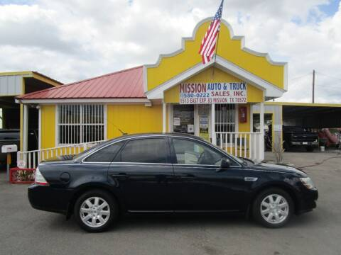 2009 Ford Taurus for sale at Mission Auto & Truck Sales, Inc. in Mission TX