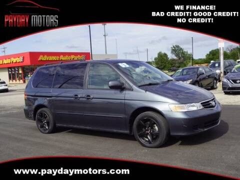 2003 Honda Odyssey for sale at Payday Motors in Wichita And Topeka KS