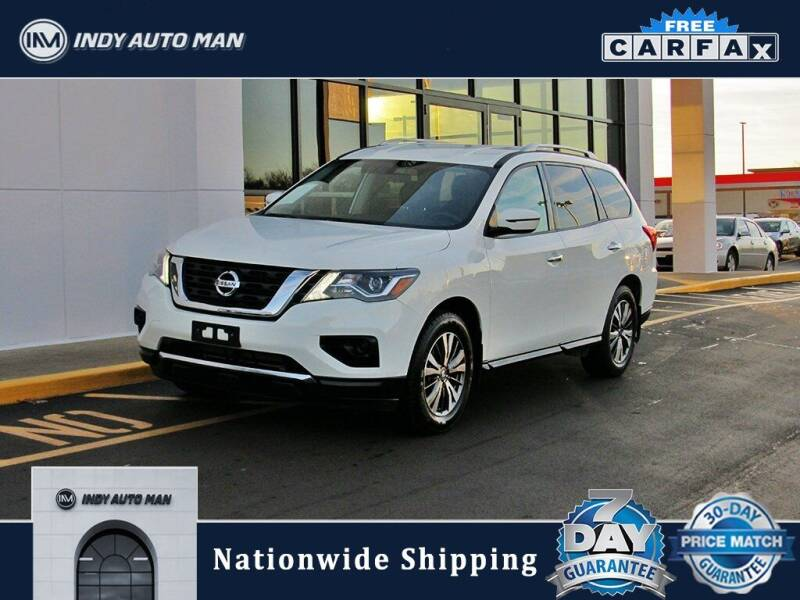 2019 Nissan Pathfinder for sale at INDY AUTO MAN in Indianapolis IN