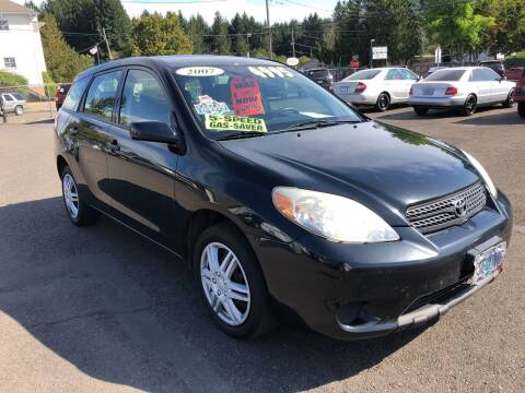 2007 Toyota Matrix for sale at Freeborn Motors in Lafayette, OR