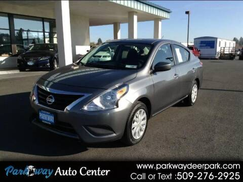 2019 Nissan Versa for sale at PARKWAY AUTO CENTER AND RV in Deer Park WA
