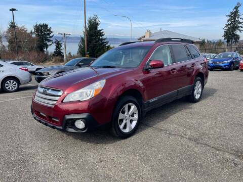 2013 Subaru Outback for sale at KARMA AUTO SALES in Federal Way WA