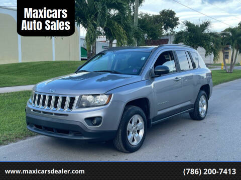 2015 Jeep Compass for sale at Maxicars Auto Sales in West Park FL