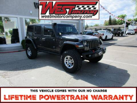 2019 Jeep Wrangler Unlimited for sale at West Motor Company in Hyde Park UT