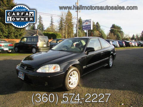 2000 Honda Civic for sale at Hall Motors LLC in Vancouver WA