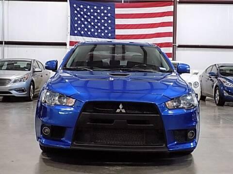 2015 Mitsubishi Lancer Evolution for sale at Texas Motor Sport in Houston TX