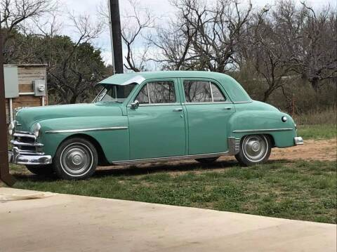 1950 Plymouth Deluxe for sale at CLASSIC MOTOR SPORTS in Winters TX