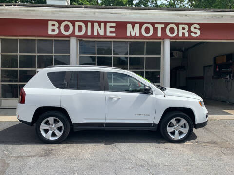 2016 Jeep Compass for sale at BODINE MOTORS in Waverly NY