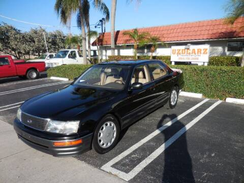 1996 Lexus LS 400 for sale at Uzdcarz Inc. in Pompano Beach FL