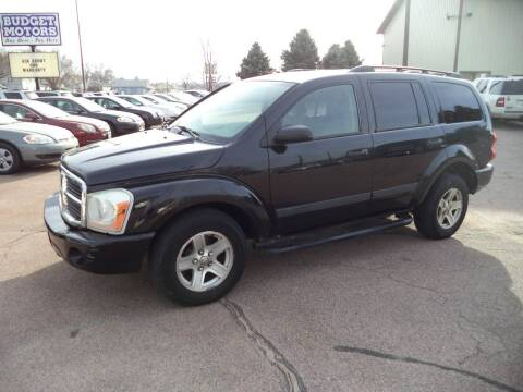 2006 Dodge Durango for sale at Budget Motors in Sioux City IA