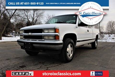 1997 Chevrolet C/K 1500 Series for sale at St. Croix Classics in Lakeland MN