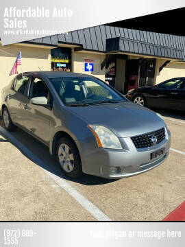 2009 Nissan Sentra for sale at Affordable Auto Sales in Dallas TX