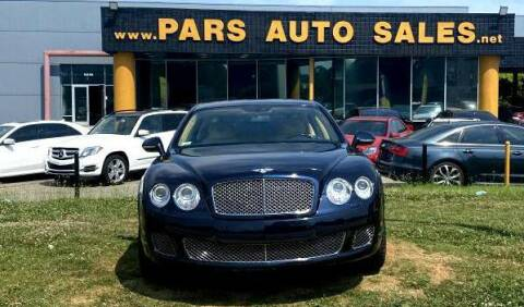 2012 Bentley Continental for sale at Pars Auto Sales Inc in Stone Mountain GA