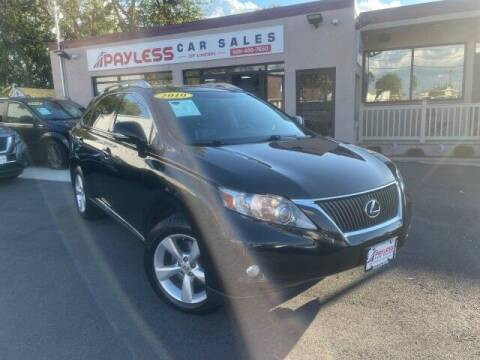 2010 Lexus RX 350 for sale at Payless Car Sales of Linden in Linden NJ