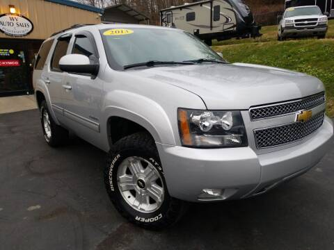 2013 Chevrolet Tahoe for sale at W V Auto & Powersports Sales in Cross Lanes WV