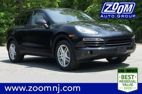 2013 Porsche Cayenne for sale at Zoom Auto Group in Parsippany NJ