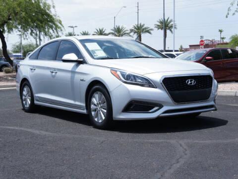 2016 Hyundai Sonata Hybrid for sale at CarFinancer.com in Peoria AZ