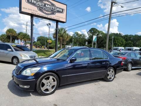 2005 Lexus LS 430 for sale at Trust Motors in Jacksonville FL