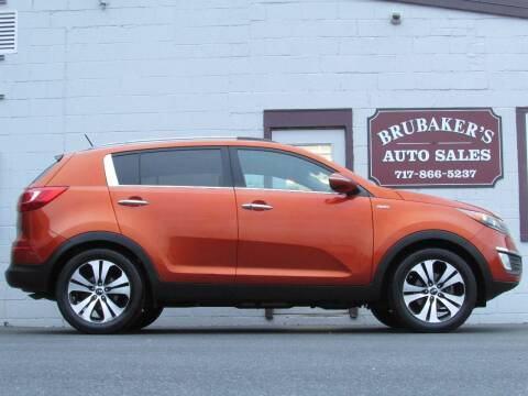 2011 Kia Sportage for sale at Brubakers Auto Sales in Myerstown PA