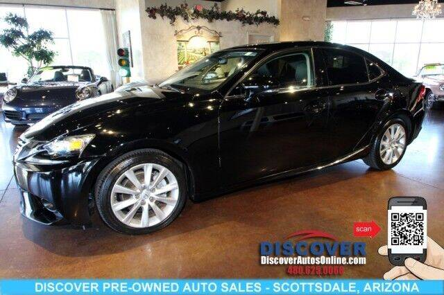 2014 Lexus IS 250 for sale at Discover Pre-Owned Auto Sales in Scottsdale AZ