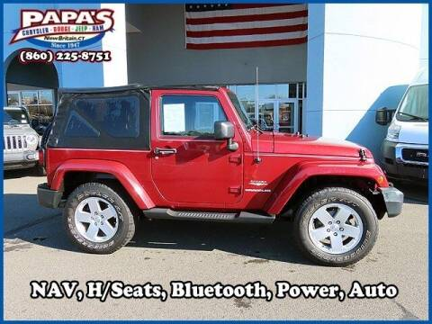 2012 Jeep Wrangler for sale at Papas Chrysler Dodge Jeep Ram in New Britain CT