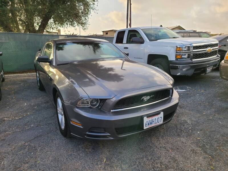 2013 Ford Mustang for sale at E and M Auto Sales in Bloomington CA