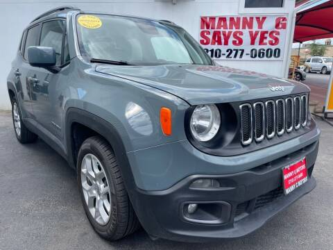 2018 Jeep Renegade for sale at Manny G Motors in San Antonio TX