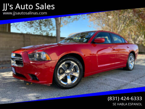 2013 Dodge Charger for sale at JJ's Auto Sales in Salinas CA