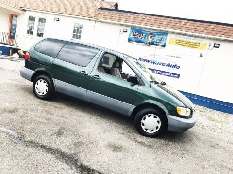 1999 Toyota Sienna for sale at New Wave Auto of Vineland in Vineland NJ