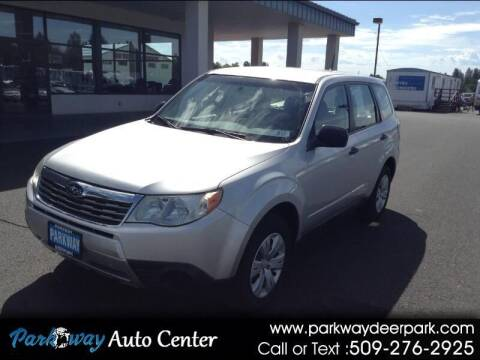 2010 Subaru Forester for sale at PARKWAY AUTO CENTER AND RV in Deer Park WA