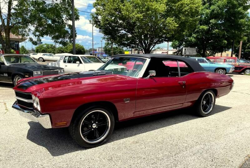 1970 Chevrolet Chevelle for sale at Black Tie Classics in Stratford NJ