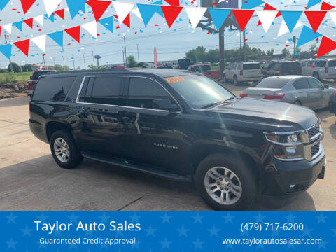 2015 Chevrolet Suburban for sale at Taylor Auto Sales in Springdale AR