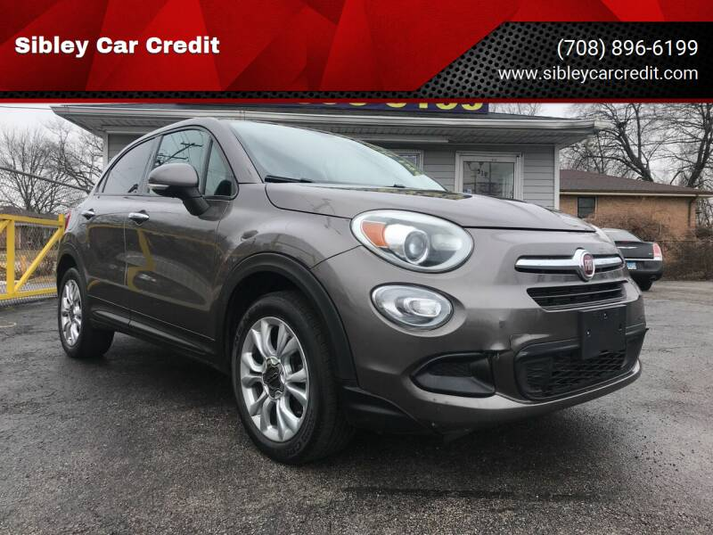 2016 FIAT 500X for sale at Sibley Car Credit in Dolton IL