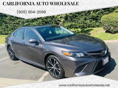 2019 Toyota Camry for sale at CARLIFORNIA AUTO WHOLESALE in San Bernardino CA