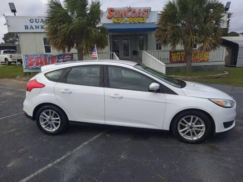 2017 Ford Focus for sale at Sun Coast City Auto Sales in Mobile AL