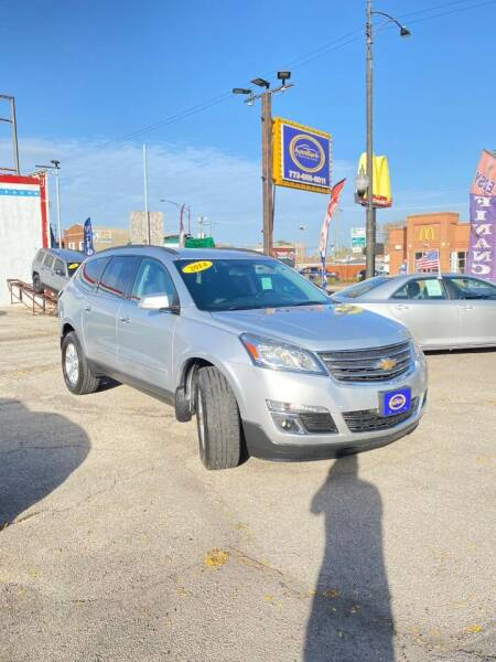 2014 Chevrolet Traverse for sale at AutoBank in Chicago IL