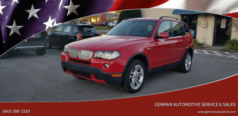 2007 BMW X3 for sale at German Automotive Service & Sales in Knoxville TN