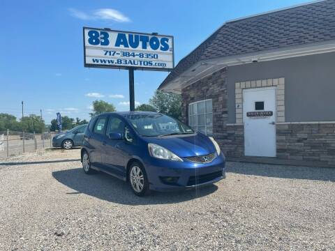 2010 Honda Fit for sale at 83 Autos in York PA