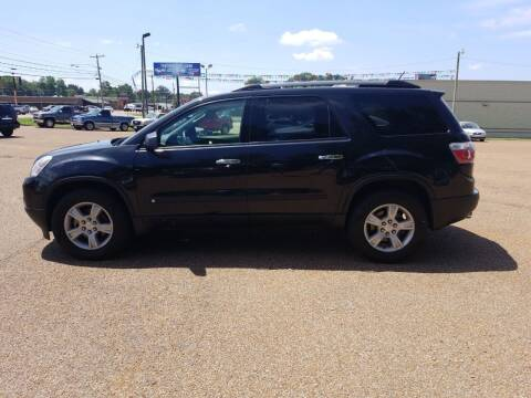 2010 GMC Acadia for sale at Frontline Auto Sales in Martin TN