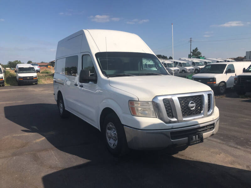 2013 Nissan NV Cargo for sale at CARGO VAN GO.COM in Shakopee MN