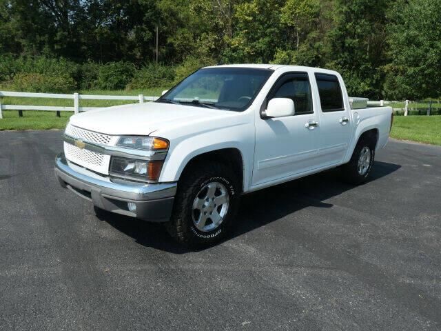 2012 Chevrolet Colorado for sale at Woodcrest Motors in Stevens PA