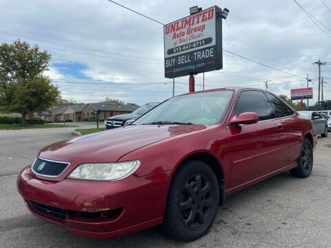 1998 Acura CL for sale at Unlimited Auto Group in West Chester OH