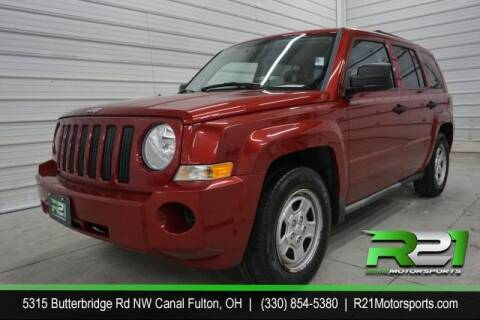 2009 Jeep Patriot for sale at Route 21 Auto Sales in Canal Fulton OH