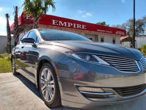 2014 Lincoln MKZ for sale at Empire Automotive Group Inc. in Orlando FL