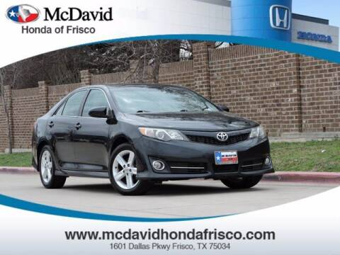 2012 Toyota Camry for sale at DAVID McDAVID HONDA OF IRVING in Irving TX